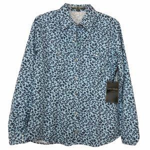 Love Stitch NWT Women's Animal Print Shirt M